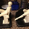 Art Deco Nude Bookends