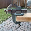 1950s Stanley No. 761 Victor Jersey Clamp-Base Vise
