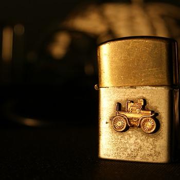 Vintage Penguin Cigarette Lighter