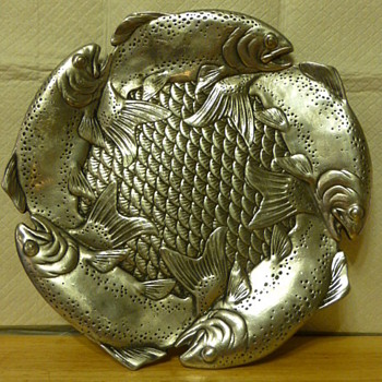 Arthur Court cast aluminum salmon platter - Kitchen