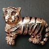 Liz Claiborne tiger brooch