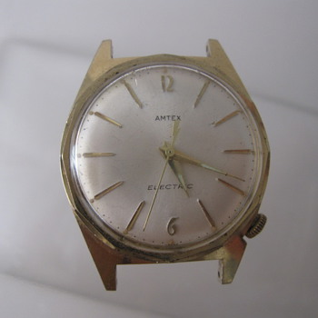 1950's Amtex Electric Wrist Watch