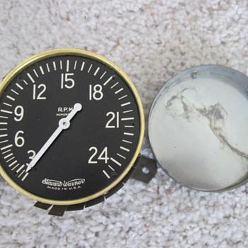 Tachometer to something....