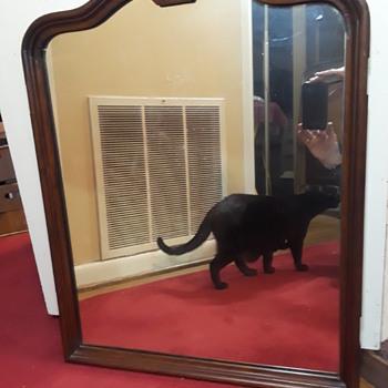 old vanity mirror - Furniture