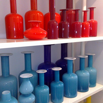 My favorite Holmegaard vases and some extra stuff - Art Glass
