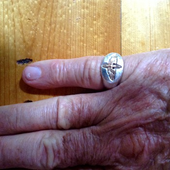 WWII US Air Force Ring 1942