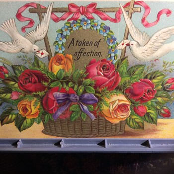 For us  hearts and roses  - Postcards