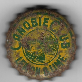 "Coca Cola ""Canobie Club"" Bottle Cap - Coca-Cola"