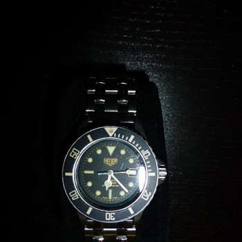 Vintage Heuer Unisex Divers Watch