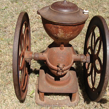 Antique Enterprise Coffee Grinder- What model number??? - Kitchen