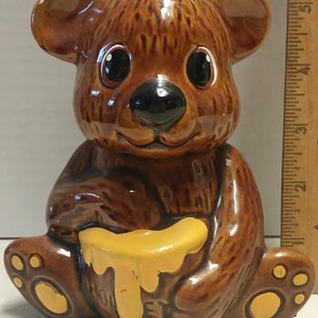 Tiny Bear Honey Pot - Animals