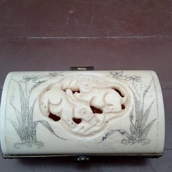 My bone trinket box
