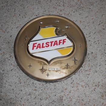 1950's  falstaff beer sign