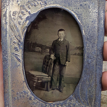 Cased Tin Type - Photographs
