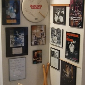 My Drum Corner - Music Memorabilia