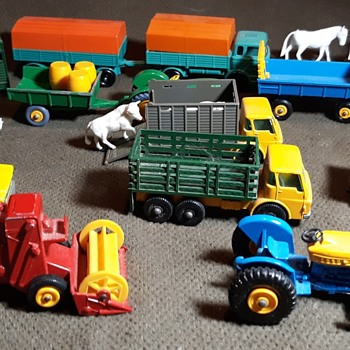 Multiple Multitude Much More Mulch Manure Matchbox Farm Models 1-75 Series Circa 1968 - Model Cars