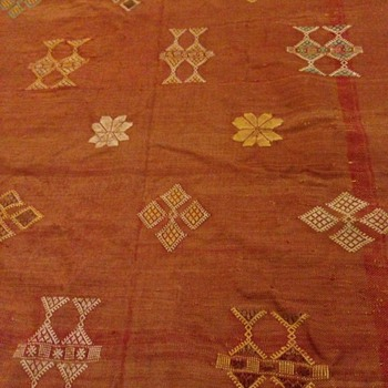Old hand made rug 3 of 4