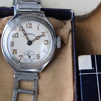 """Ingersoll """"Mite"""" Wristwatch....Circa 1928-29 - Wristwatches"""