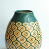 "art deco pottery model ""ananas"" by LEON ELCHINGER"