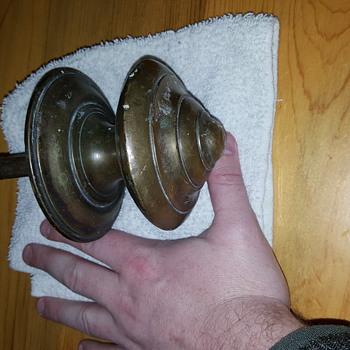 Giant antique doorknob brass - Tools and Hardware