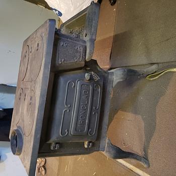 Antique stove find at a old farm estate auction...  - Kitchen
