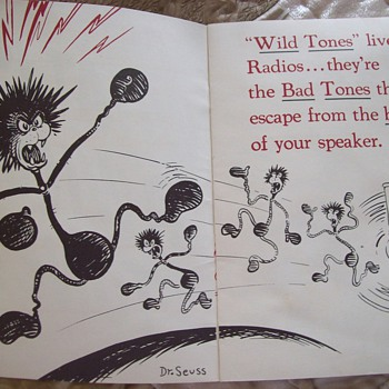 Dr. Seuss WHAT IS A WILDTONE  Ad Booklet for Stromberg-Carlson Labyrinth Radio - Advertising