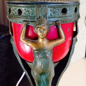 Art Nouveau incense burner - Art Nouveau