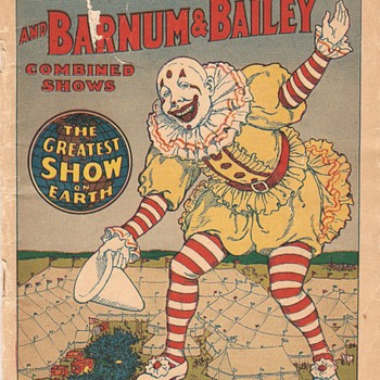 1924 Ringling Bros. & Barnum and Bailey Circus Magazine and Daily Review - Paper