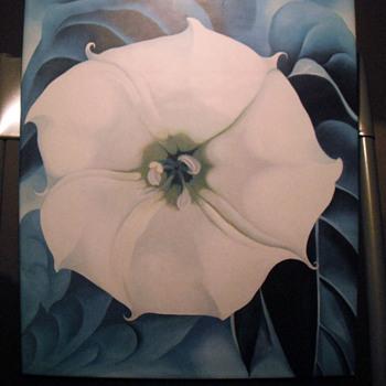 One Hundreed Flowers by Georgia O'Keefe