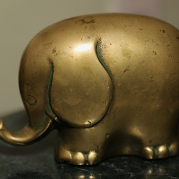 Botero Brass Elephant? - Animals