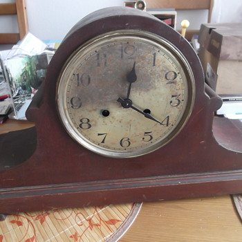 Antique Large Mantel Clock