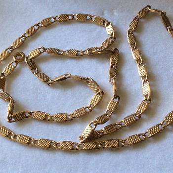 Vintage gold chain - Fine Jewelry