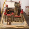 Vintage Hausser Germany Elastolin Castle Playset