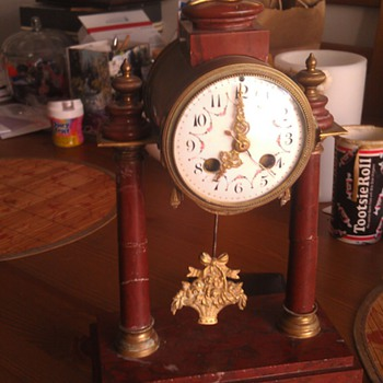 Vintage French Mantel Clock Help I.D.