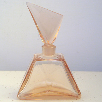My beautiful Art Deco Czech Glass Perfume Bottle