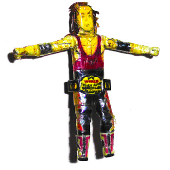 Ultra rare one-of-a-kind wrestler figurines - Toys