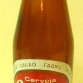 Portuguese beer bottle