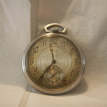 1935 waltham pocket watch 15 JEWEL
