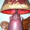 Van Briggle Mulberry Lamp