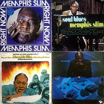 Blues Vinyl (1960's/70's). - Records