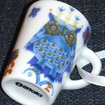 Taika iittala Christmas ornaments (mini mugs post 2) - Pottery