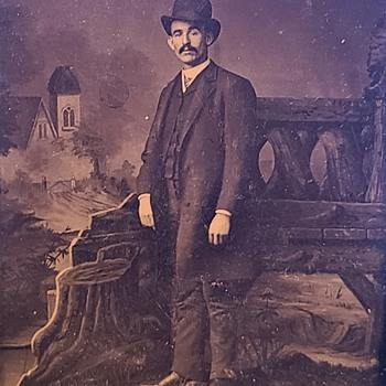 Possible TOM HORN tintype image ?? - Photographs