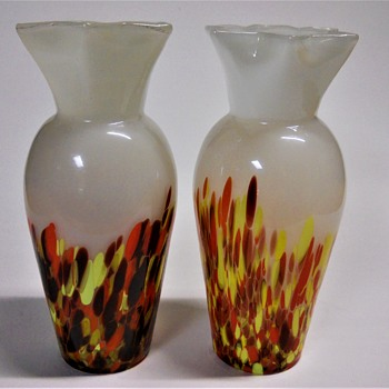 Pair of Czechoslovakia Vase, Art deco 1920-30 - Art Deco