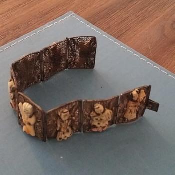 antique japanese braclet