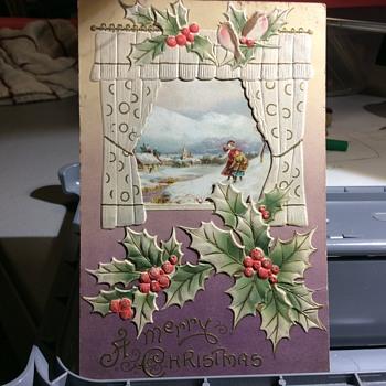 101 Years ago Christmas  - Postcards