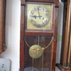 Antique 1890's German Gustav Becker wall clock.