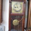 Antique 1890's German Gustav Becker wall clock.