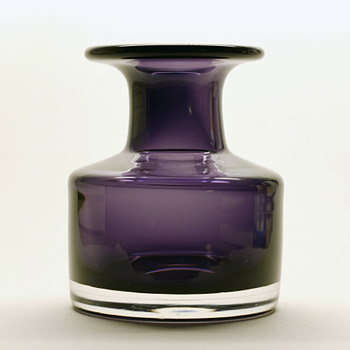 Bengt Edenfalk for Skruf - 1950s or 60s. - Art Glass