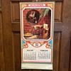 1976 Budweiser calendar