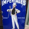 Imperiales Cigarettes Porcelain Sign